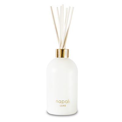 Dakota 300ml Luxe Reed Diffuser  (White/Gold)