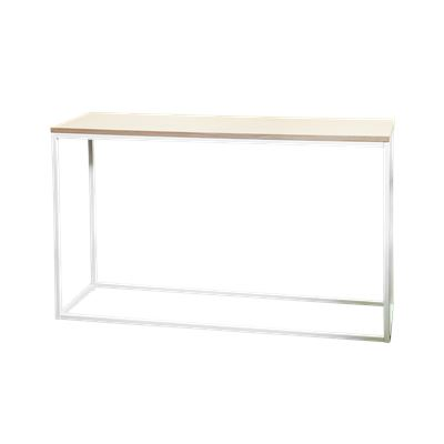 Hendrik Console Table White & Oak 120cm