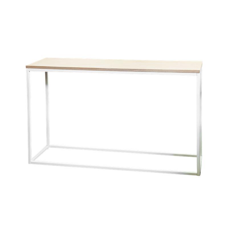 Hendrik Console Table White & Oak 120cm