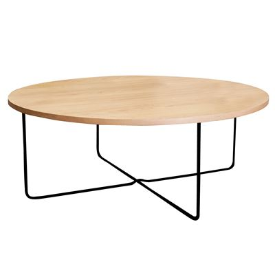Monika Coffee Table Oak 90x37cm