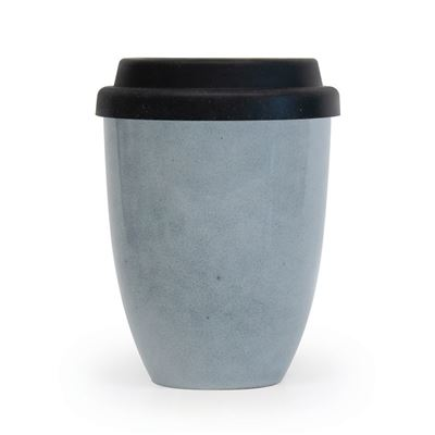 S&P Traveller Mug Blue w/Silicone Lid