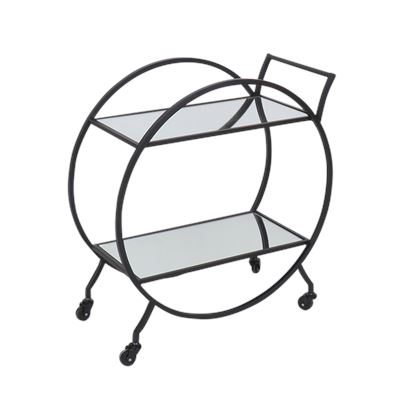 Harper Bar Cart Black