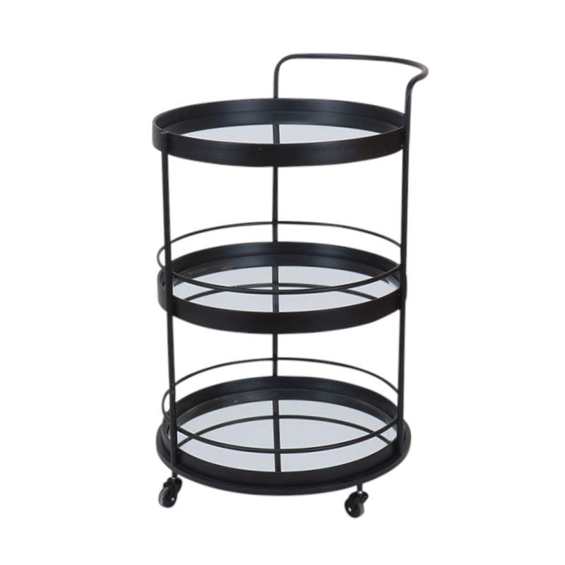 Addison Bar Cart Black