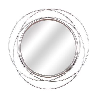 Hadley Mirror Silver