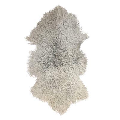 Mongolian Lamb Rug Grey