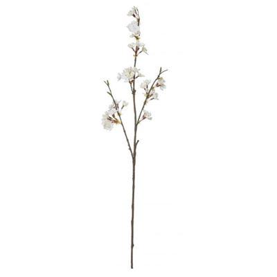 Cherry Blossom Spray 76cm White