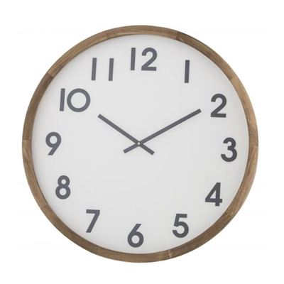 Leonard Wall Clock 61cm Dark Grey