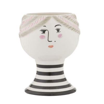 Pixie Face Vase 15.5x20cm Multi