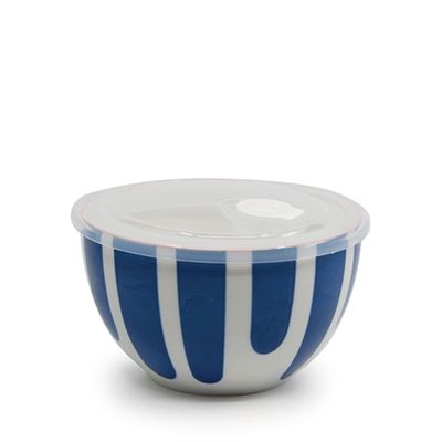 S&P Lunch2Go Bowl W/Lid Blue 15x9cm