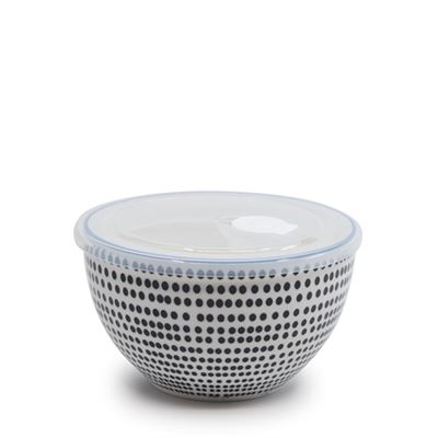 S&P Lunch2Go Bowl W/Lid Dot 15x9cm