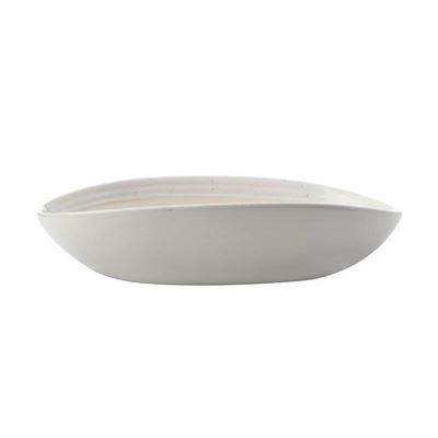Vanilla Pod Oval Bowl 25x17cm