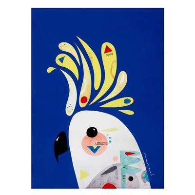 Pete Cromer Tea Towel 50x70cm Cockatoo