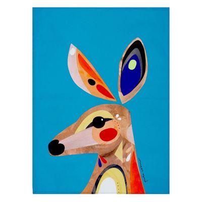 Pete Cromer Tea Towel 50x70cm Kangaroo