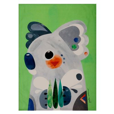 Pete Cromer Tea Towel 50x70cm Koala