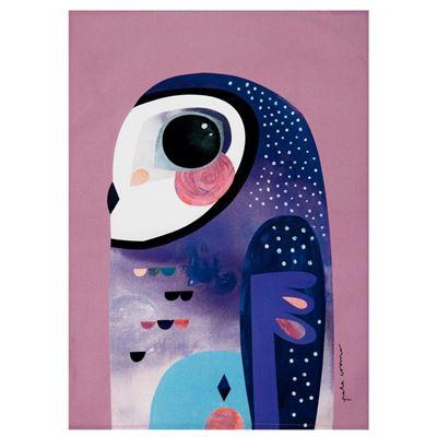 Pete Cromer Tea Towel 50x70cm Owl