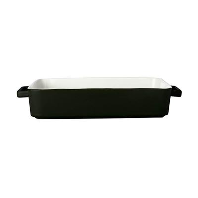 Epicurious Lasagna Dish 36x24x7.5cm Black