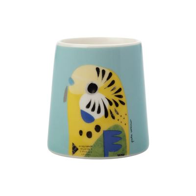 Pete Cromer Egg Cup Budgie
