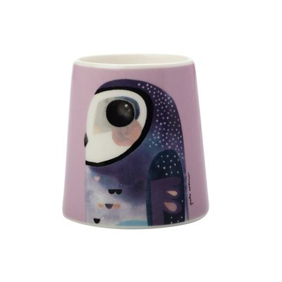 Pete Cromer Egg Cup Owl