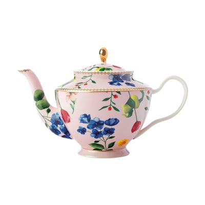 Teas & C's Contessa Teapot with Infuser 1L Rose Gift Boxed