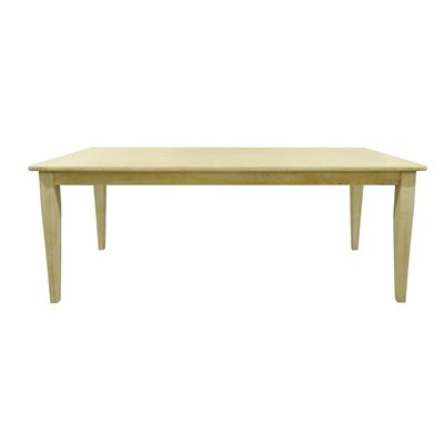 Colmar Dining Table 2.1m Whitewash