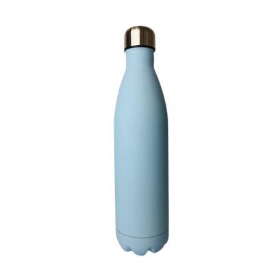 SS Water Bottle Double Wall Blue 750ml