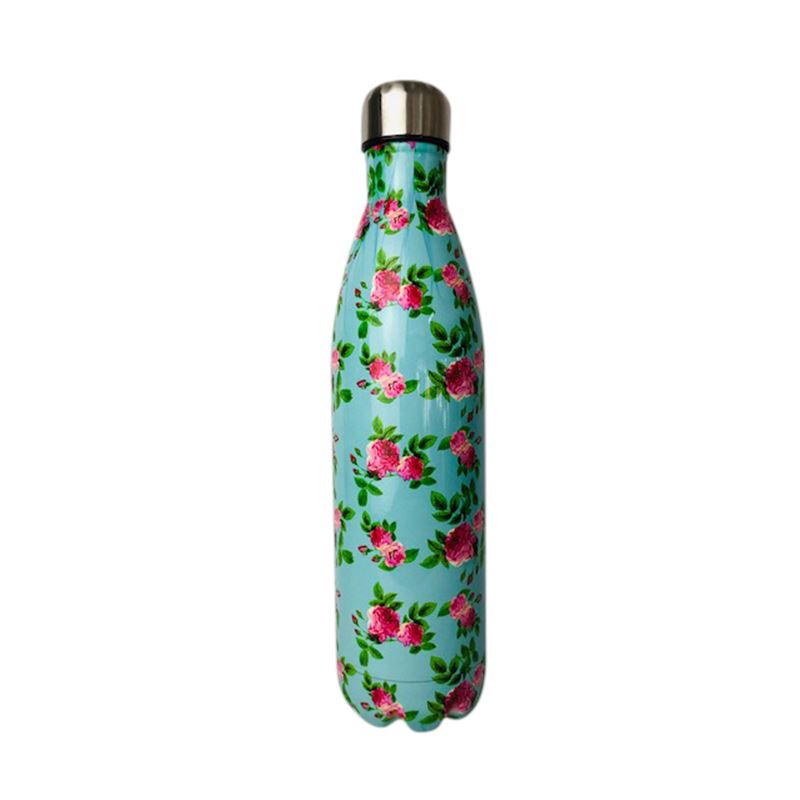 SS Water Bottle Double Wall Rose Pink 750ml