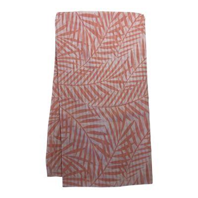 Palm Print Scarf Rose