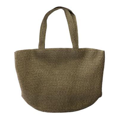 Woven Beach Bag Gold