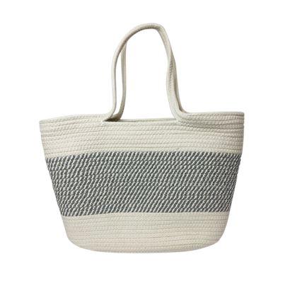 Cotton Market Bag Grey