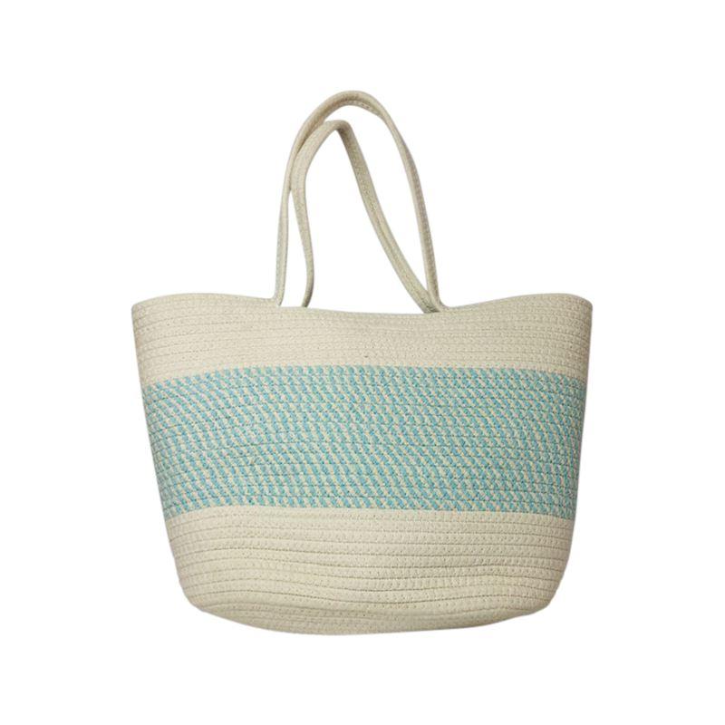 Cotton Market Bag Blue