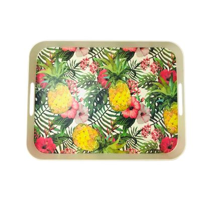 Bamboo Fiber Tray Pineapple