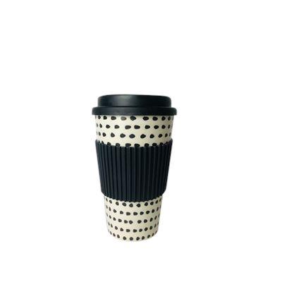 Bamboo Fiber Cups Dots