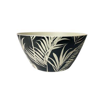 Salad Bowl Palm Black & White