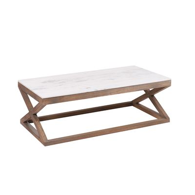 Kingston Marble Top Coffee Table