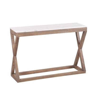 Kingston Marble Top Console Table