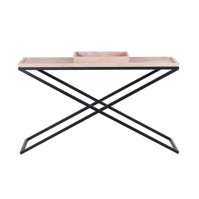 Cross Leg Tray Top Console