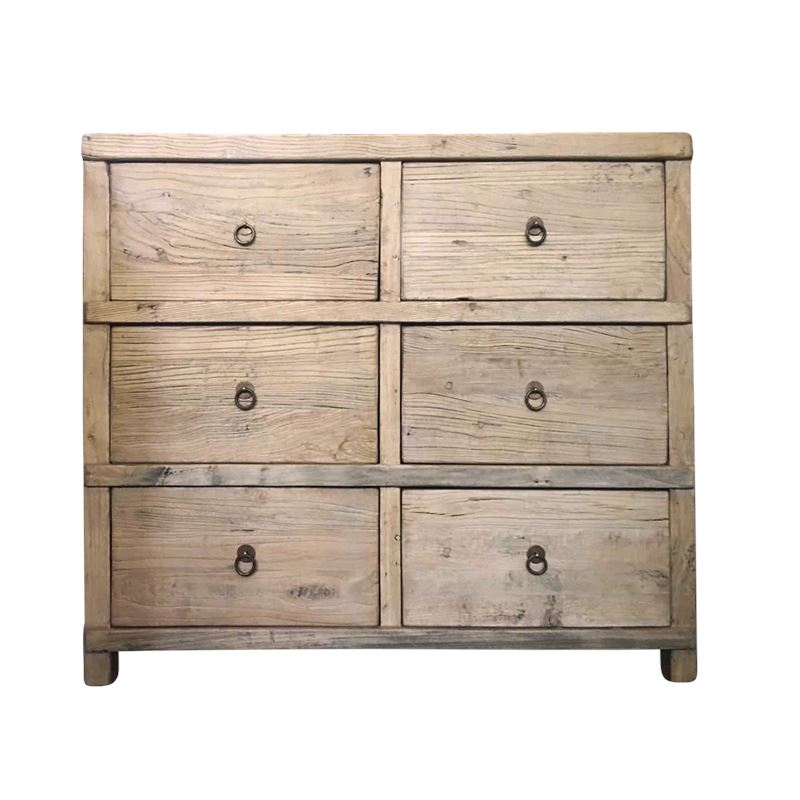 Reclaimed 6 Door Cabinet 102x45x90