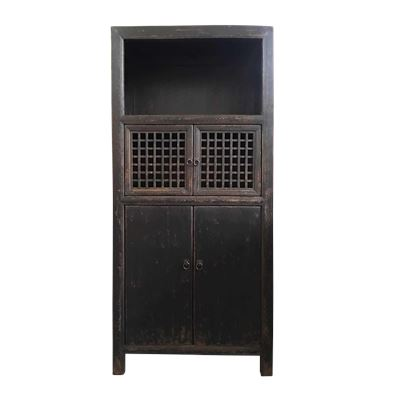 Reclaimed Tall 4 Door Cabinet 80x40x170