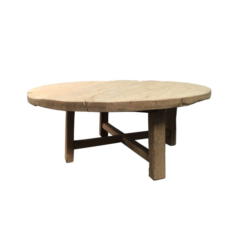 Reclaimed Round Coffee Table 120x120x45