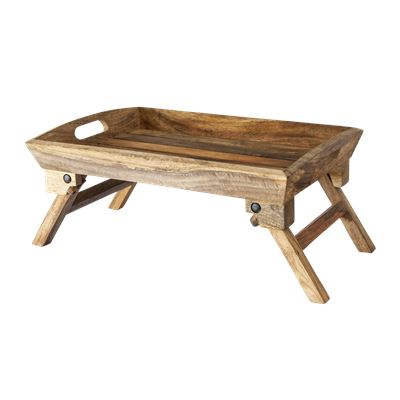 Rustic Mango Wood Breakfast Tray