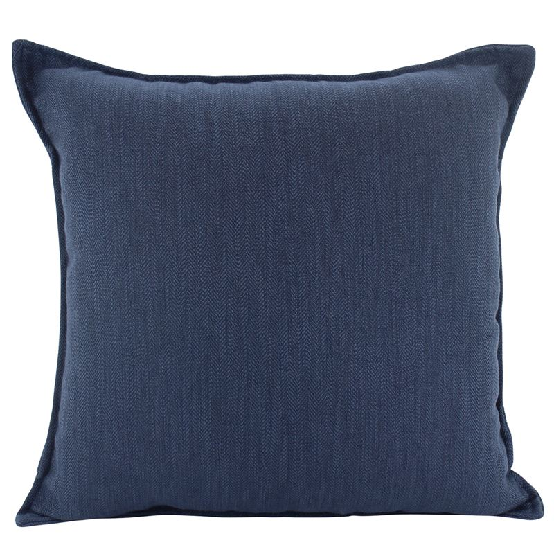 Linen Navy Cushion 45x45cm