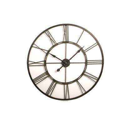 Frame Clock Black 101Cm