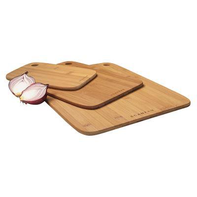 Bamboo Board 3 Piece Set