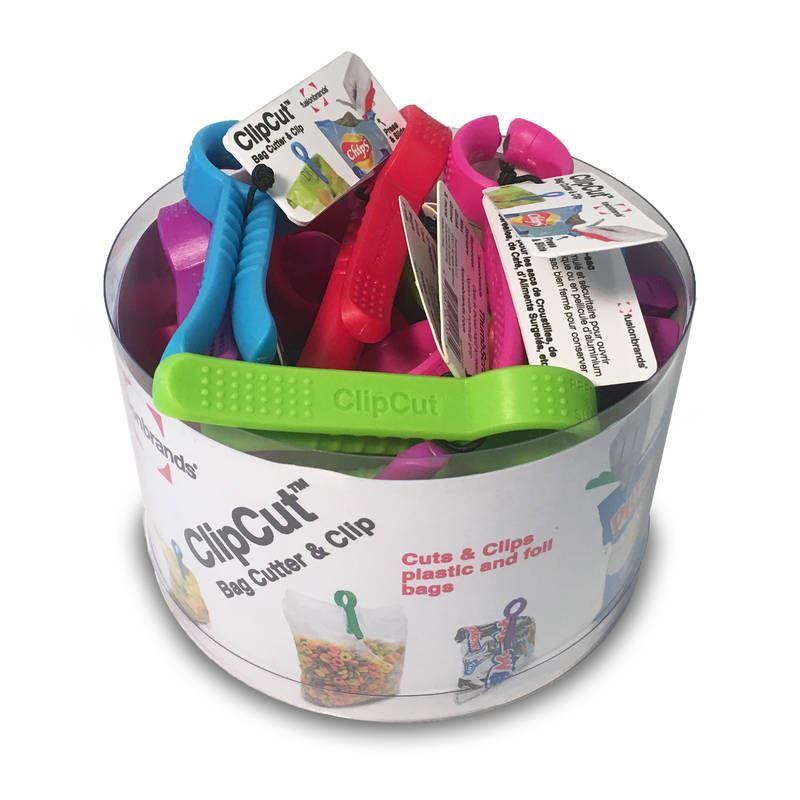 ClipCut Bag Cutter and Clip