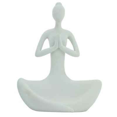 Yoga Lady Matte White 22.5cm