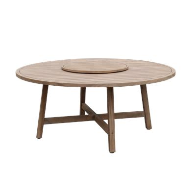 Amalfi Dining Table with Lazy Susan 1.8M