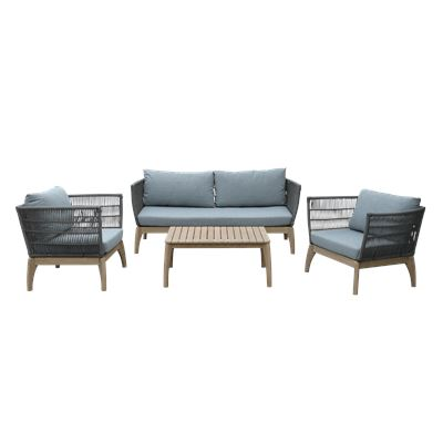 Isola Lounge Set Grey