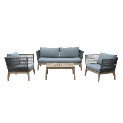 Isola Lounge Set Grey