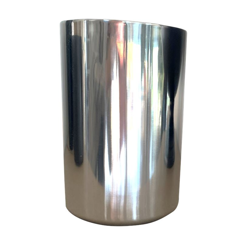 Double Walled Wine Chiller Silver