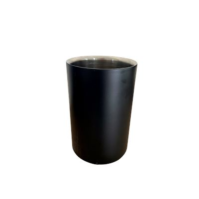 Double Walled Wine Chiller Matt Black